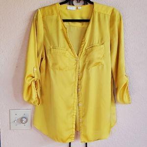 New York & Co wyomens blouse large